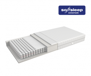 Softsleep Matratze Pocket Relax H3 Hart