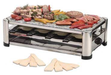 Ohmex Grill - Raclette - Crêpes - 4 in 1 Apparat, Ref: GRILL 4500
