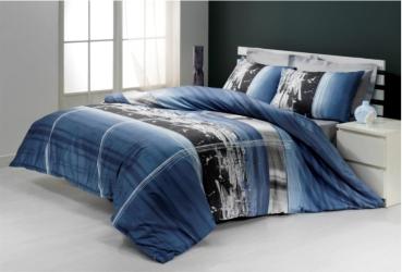 seersucker bettw sche albert 100 baumwolle b gelfrei mit reissverschluss bettw sche. Black Bedroom Furniture Sets. Home Design Ideas