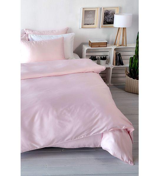 living home uni satin bettw sche rose bettw sche fixleint cher moltons frotteew sche. Black Bedroom Furniture Sets. Home Design Ideas