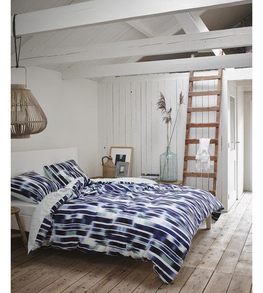 esprit bettw sche jax 200x210 2x65x65cm azzurro. Black Bedroom Furniture Sets. Home Design Ideas