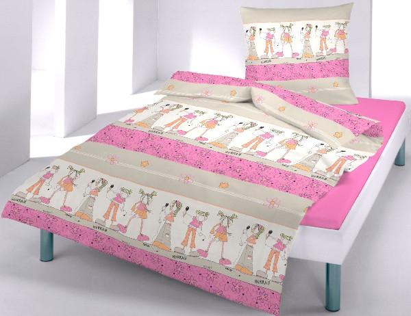renforc bettw sche girls 100 baumwolle mit. Black Bedroom Furniture Sets. Home Design Ideas