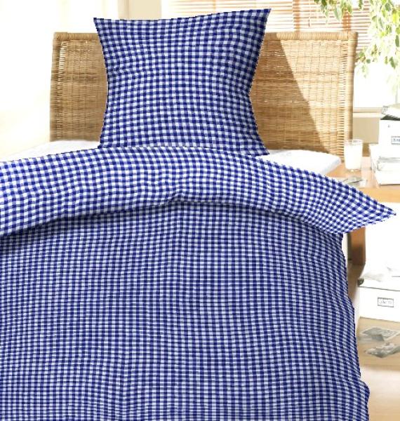 seersucker bettw sche k lsch blau 100 baumwolle mit reissverschluss bettw sche. Black Bedroom Furniture Sets. Home Design Ideas